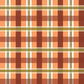 Vector geometric color pattern background illustration of in white and brown lines and rectangles Stock Photo