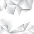 Vector geometric crystal pattern background Royalty Free Stock Photo