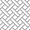 Vector geometric diagonal parquet pattern abstract seamless monochrome floor texture background Royalty Free Stock Photos
