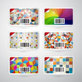 Vector Gift Card Set Royalty Free Stock Image