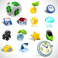 Vector gift icons. Set 2 Stock Photography