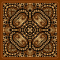 Vector gold ornament vintage pattern for print embroidery you can use this pattern for carpet shawl pillow cushion Stock Photo