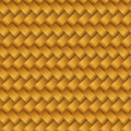 Vector gold rattan Royalty Free Stock Photo