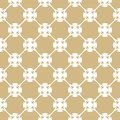 Vector golden pattern in Arabian style. White and gold floral seamless texture.