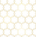 Vector golden texture, trendy gold lines seamless pattern