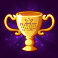 Vector Golden VIP Trophy Cup