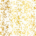 Vector Golden On White Abstract Grunge Flake Foil Texture Seamless Pattern Background. Great for elegant gold fabric Royalty Free Stock Photo