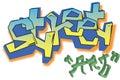 Vector Graffiti street art