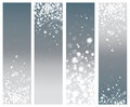 Vector gray abstract banners. Royalty Free Stock Photo