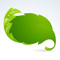Vector Green Leaf Frame, Sprin...