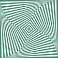 Vector green and white abstract illusion background Stock Photography