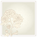 Vector greeting card. Royalty Free Stock Images