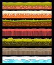 Vector ground collection