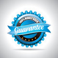 Vector  Guarantee Labels Illus...