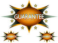 Vector - guarantee sticker icon Royalty Free Stock Photos