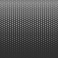 Vector halftone abstract background, black white gradient gradation. Geometric mosaic triangle shapes monochrome pattern