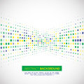 Vector Halftone Background In ...