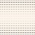 Vector halftone geometric seamless pattern with small diamond shapes, rhombuses