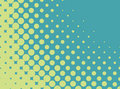 Vector halftone pattern Royalty Free Stock Image