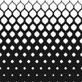 Vector halftone pattern, mesh geometric texture