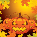 Vector Halloween banner Royalty Free Stock Image