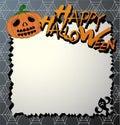 Vector halloween card Stock Photo