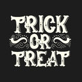 Vector halloween quote typographical background
