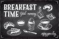 Vector Hand Drawn Breakfast An...