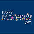 Vector happy mothers day Royalty Free Stock Images