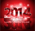 Vector Happy New Year 2014 Col...