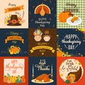 Vector Happy Thanksgiving decoration lettering invintation card design harvest november family celebrate background