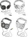 Vector headphone