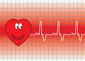 Vector heart Stock Photo