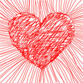 Vector heart Royalty Free Stock Images