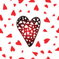 Vector Heart Pattern