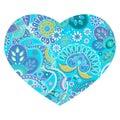 Vector heart shape design Royalty Free Stock Photo