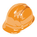 Vector helmet white background Stock Photography