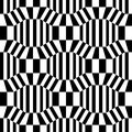 Vector hipster abstract geometry pattern 3d, black and white seamless geometric background