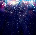 Vector holiday,blue, sparkle background.