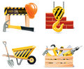 Vector Homebuilding & Renovating icon set. Part 4 Royalty Free Stock Image