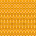 Vector Honeycomb Seamless Pattern
