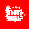 Vector hot sale title on red background dirty wit splashes Royalty Free Stock Image