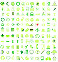 Vector icon set Royalty Free Stock Photo