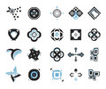 Vector icons - elements 15 Royalty Free Stock Photos