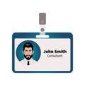 Vector ID badge