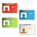Vector Identity tag Royalty Free Stock Photos