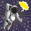 Vector Illustration Of Astrona...