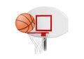 Vector illustration of basketball things Royalty Free Stock Photos