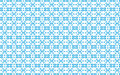 Vector illustration blue pattern of geometric shapes on a white background