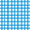 Vector illustration of blue tablecloth Stock Photography